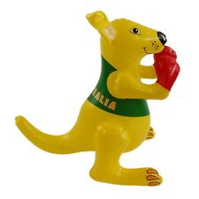 Australia Souvenir Supporter Blow Up Squeaky Inflatable 45cm Boxing Kangaroo
