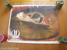 """Elleven Surfing poster signed Falina Spires 24x30"""""""