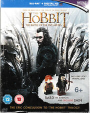 The Hobbit - The Battle of the Five Armies+Lego Mini Figures Bard & Bain Blu Ray