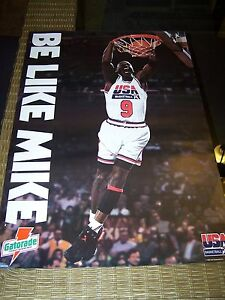 Michael Jordan USA Basketball Poster
