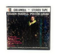 Eileen Farrell Puccini Arias Reel To Reel Tape With Original Box Columbia MQ358