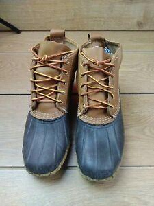 Mens ll bean Duck Boots UK Size 8