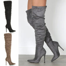 52858e230f9 Over-the-Knee Slouch Boots for Women