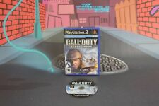 CALL OF DUTY FINEST HOUR PLAYSTATION 2 COMBINED SHIPPING