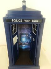 "Doctor who Tardis 11th Dr's 3rd/last, 9""flight control tard design,light/sound."