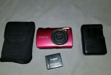 Canon PowerShot A3300 IS 16.0MP Digital Camera - (Red)works / looks great.