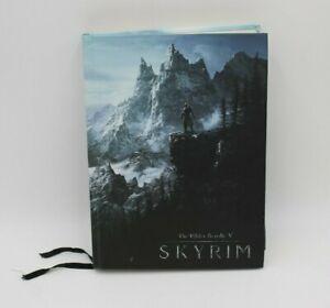 Elder Scrolls V Skyrim Collectors Edition Official Game Guide Hardcover Book HTF