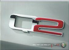Alfa Romeo 147 Q2 GT Q2 brochure depliant prospekt 2006 langue allemande