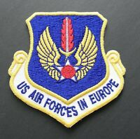 USA AIR FORCE FORCES IN EUROPE SHIELD EMBLEM PATCH 3 INCHES