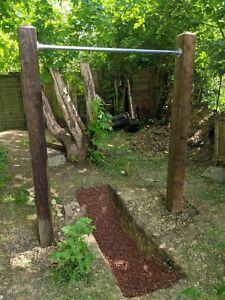 Calisthenics Approved Garden DIY Pull Up Bar 1.05m