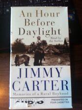 An Hour Before Daylight :Memories of a Rural Boyhood by Jimmy Carter 2001 Casstt