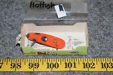 Vintage New Old Stock Helin F-7 Flatfish Fishing Lure, Lot 124