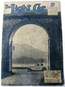 The LIGHT CAR 15 Nov 1935 Original Motoring Car Magazine