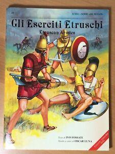 Etruscan Armies by Ivo Fossati, EMI Serie de Bello, Italian & English edition