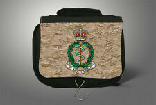 Royal Army Medical Corps   Army Travel Camping Hanging Toiletry Wash Kit Bag