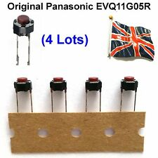 4 X ROLAND TASTIERA e PIANOFORTE Push Button Switch 01340290 Red Top 5mm UK STOCK