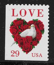 US Scott #2814, Single 1999 LOVE 29c FVF MNH