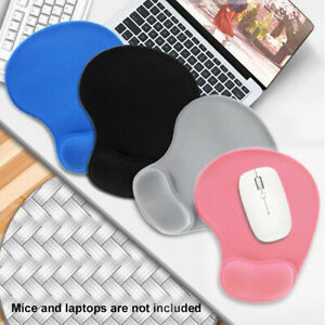 Mouse Pad Soft Gaming Solid Accessories With Wrist Support Computer Laptop PC