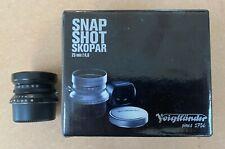 VOIGTLANDER Snap Shor Skopar 25mm F4, 0 Leica M Montaje