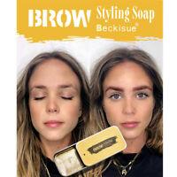 3D Feathery Brows Makeup Gel Soap Brows Kit Lasting Eyebrow Set Waterproof DM