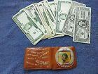 Vintage S S Popeye Vinyl Childs Wallet & Thousands Genuine Bogus Play Money