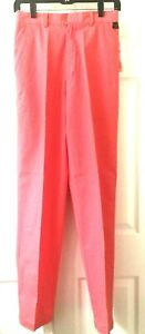 Vintage THE NORTH FACE Girls Women Stand Back Pant Coral Size 10 Flat Front