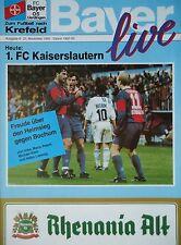 Programm 2 Fortuna Düsseldorf BL 1992//93 Hannover 96