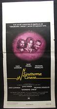 LOCANDINA CINEMA - SINDROME CINESE - J. LEMMON - 1979 - DRAMMATICO