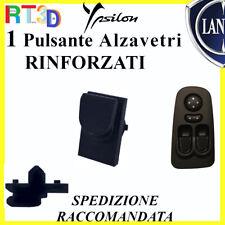 Pulsante RINFORZATO per pulsantiera LANCIA Y 735360605 e 604 tasto alzavetri