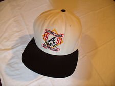 Atlanta Braves 1991 National League Champions Hat NEW ERA Pro Model USA Snapback