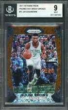 2017-18 panini prizm prizms fast break bronze #11 Jaylen Brown rookie card Bgs 9