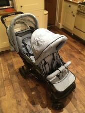 Chic 4 Baby Duo Tandem Pram with Carry Cot