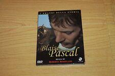 Blaise Pascal - Roberto Rossellini (1971) DVD ORIGINALE Istituto Luce LD90051