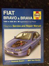 3572 Haynes Fiat Bravo and Brava Petrol (1995 - 2000) N to W Workshop Manual