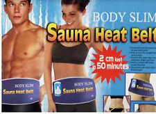 sauna cintura riscaldante cellulite dimagrante dolori reumatici