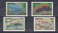D. Fish Marine Life Grenada 1299 - 02 Wwf (MNH)