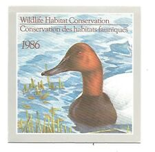 CANADA VanDam Catalogue  FWH2 $4.00 CANVANSBACKS BOOKLET  MNH F-VF