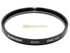 58mm. filtro DMC UV Quantaray. Ultraviolet Filter.