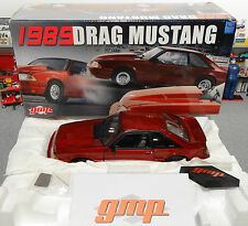 1989 Ford (#0078) Mustang LX Maroon GMP 1:18 Diecast (Car & Box Only) Beautiful