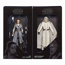 SDCC 2017 Star Wars The Black Series Luke Skywalker & Rey - HASBRO