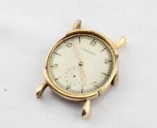 14K SOLID GOLD LONGINES MEN'S VINTAGE WRIST WATCH FANCY LUGS 1930s RUNS NR #898