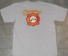 PARAMOUNT Fire Department Los Angeles California gray shirt