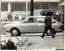 4 Photos Hold Up Deucht Bank Cologne 1971 - Gangsters -