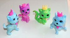 4 Barbie Castillo brillo de diamantes Gatos 2008 Mattel