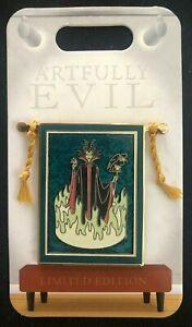 Disney Parks 2021 Artfully Evil Maleficent Tapestry LE Disney Pin