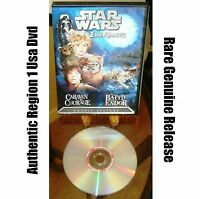 ✅ Star Wars Dvd Ewok Adventures: Caravan of Courage - The Battle for Endor ⭐⭐⭐⭐⭐