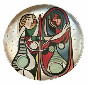 Picasso Style Grand Charger Decorative Plate