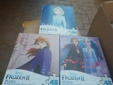 NEW 3X Disney Frozen II PUZZLE