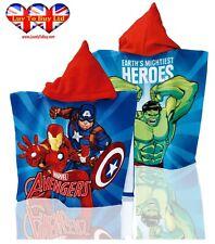 Official Avenger Poncho Towel,Bath Hooded Towel,Swimming Towel Pool,Beach Towel