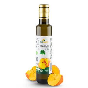 Certified Organic Cold Pressed Styrian Pumpkin Roasted Seed Oil 250ml Biopurus